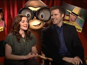 drew-barrymore-will-ferrell-curious-george Video Thumbnail