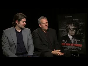 Drew Taylor & Larry Weinstein (Our Man in Tehran) Interview Video Thumbnail
