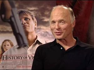 ED HARRIS - A HISTORY OF VIOLENCE Interview Video Thumbnail