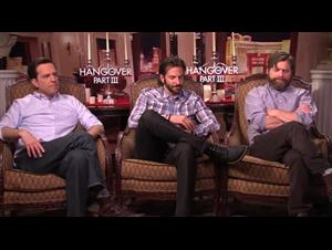 Ed Helms, Bradley Cooper & Zach Galifianakis (The Hangover Part III) Interview Video Thumbnail