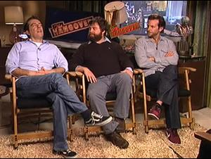 Ed Helms, Zach Galifianakis & Bradley Cooper (The Hangover) Interview Video Thumbnail