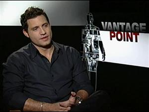 Edgar Ramirez (Vantage Point) Interview Video Thumbnail