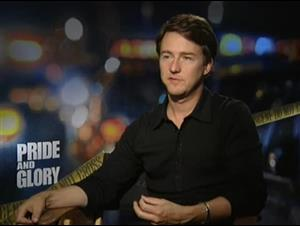 Edward Norton (Pride and Glory) Interview Video Thumbnail