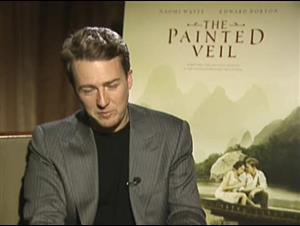 EDWARD NORTON (THE PAINTED VEIL) Interview Video Thumbnail
