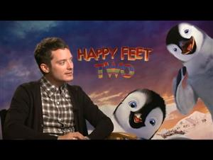 Elijah Wood (Happy Feet Two) Interview Video Thumbnail