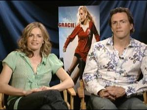 Elisabeth Shue & Andrew Shue (Gracie) Interview Video Thumbnail