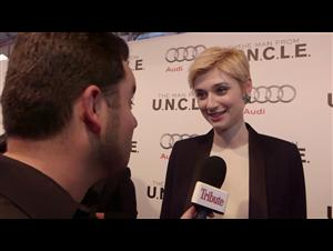 Exclusive: Elizabeth Debicki - The Man from U.N.C.L.E. Red Carpet Video Thumbnail