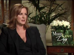 ELIZABETH PERKINS - MUST LOVE DOGS Interview Video Thumbnail