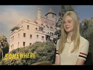 Elle Fanning (Somewhere) Interview Video Thumbnail