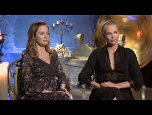 emily-blunt-charlize-theron-interview-the-huntsman-winters-war Video Thumbnail