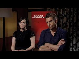 Emily Hampshire & Scott Speedman (Good Neighbours) Interview Video Thumbnail