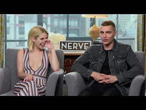 emma-roberts-dave-franco-interview-nerve Video Thumbnail