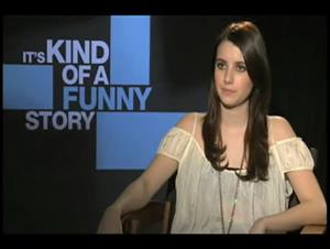 Emma Roberts (It's Kind of a Funny Story) Interview Video Thumbnail