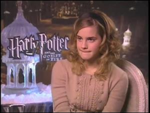 Emma Watson (Harry Potter and the Goblet of Fire) Interview Video Thumbnail