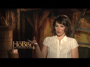 Evangeline Lilly (The Hobbit: The Desolation of Smaug) Interview Video Thumbnail