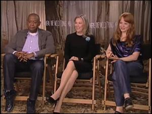 Forest Whitaker, Catherine O'Hara & Lauren Ambrose (Where the Wild Things Are) Interview Video Thumbnail