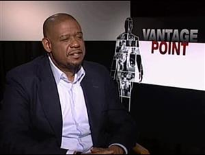 Forest Whitaker (Vantage Point) Interview Video Thumbnail