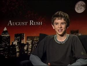 Freddie Highmore (August Rush) Interview Video Thumbnail