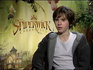 Freddie Highmore (The Spiderwick Chronicles) Interview Video Thumbnail