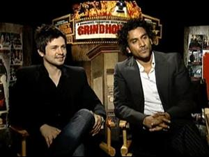 Freddy Rodriguez & Naveen Andrews (Grindhouse) Interview Video Thumbnail