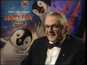 George Miller (Happy Feet Two) Interview Video Thumbnail