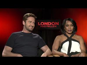 Gerard Butler & Angela Bassett - London Has Fallen Interview Video Thumbnail