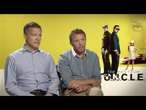 Guy Ritchie & Lionel Wigram - The Man from U.N.C.L.E. Interview Video Thumbnail