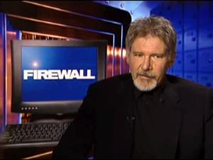 HARRISON FORD (FIREWALL) Interview Video Thumbnail