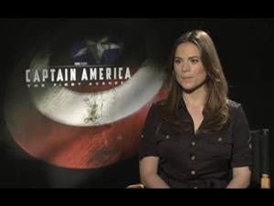 Hayley Atwell (Captain America: The First Avenger) Interview Video Thumbnail