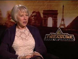 Helen Mirren (National Treasure: Book of Secrets) Interview Video Thumbnail