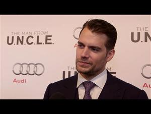 Exclusive: Henry Cavill - The Man from U.N.C.L.E. Red Carpet Video Thumbnail