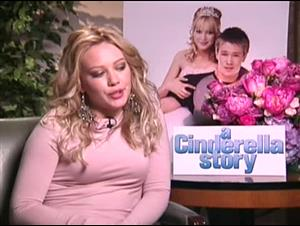 HILARY DUFF - A CINDERELLA STORY Interview Video Thumbnail