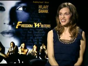 HILARY SWANK (FREEDOM WRITERS) Interview Video Thumbnail