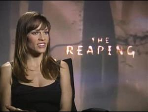 Hilary Swank (The Reaping) Interview Video Thumbnail