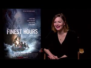 Holliday Grainger - The Finest Hours Interview Video Thumbnail