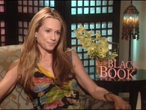 HOLLY HUNTER - LITTLE BLACK BOOK Interview Video Thumbnail