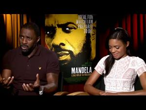 Idris Elba & Naomie Harris (Mandela: Long Walk to Freedom) Interview Video Thumbnail