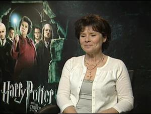 Imelda Staunton (Harry Potter and the Order of the Phoenix) Interview Video Thumbnail