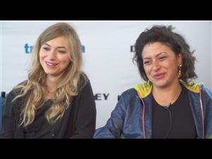 Imogen Poots & Alia Shawkat - Green Room Interview Video Thumbnail