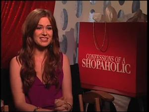Isla Fisher (Confessions of a Shopaholic) Interview Video Thumbnail