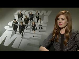 Isla Fisher (Now You See Me) Interview Video Thumbnail