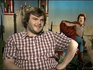JACK BLACK (NACHO LIBRE) Interview Video Thumbnail