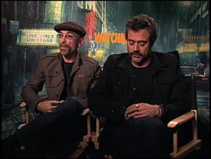 Jackie Earle Haley & Jeffrey Dean Morgan (Watchmen) Interview Video Thumbnail