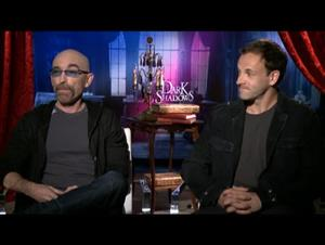 Jackie Earle Haley & Jonny Lee Miller (Dark Shadows) Interview Video Thumbnail