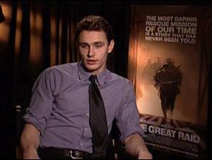 JAMES FRANCO - THE GREAT RAID Interview Video Thumbnail