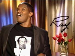 JAMIE FOXX - RAY Interview Video Thumbnail