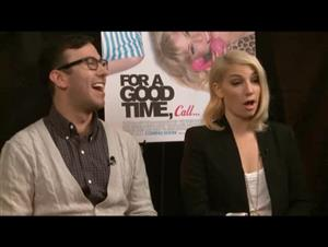 Jamie Travis & Ari Graynor (For a Good Time, Call...) Interview Video Thumbnail