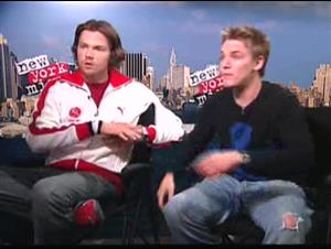 JARED PADALECKI & RILEY SMITH Interview Video Thumbnail