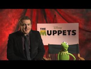 Jason Segel & Kermit the Frog (The Muppets) Interview Video Thumbnail