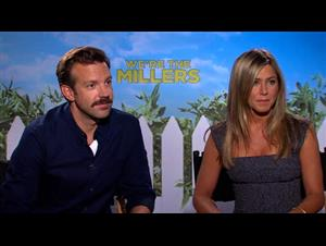 Jason Sudeikis & Jennifer Aniston (We're the Millers) Interview Video Thumbnail